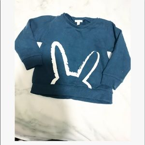 Liviy baby • bunny blue sweater
